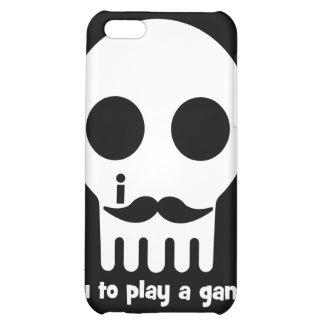 gamer mustache iPhone 5C cases