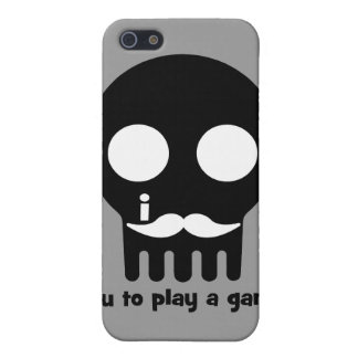 gamer mustache cover for iPhone 5