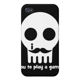 gamer mustache case for iPhone 4