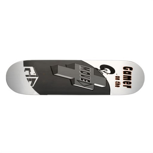 Gamer on the Move Skate Board