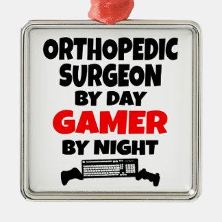 Gamer Orthopedic Surgeon Metal Ornament