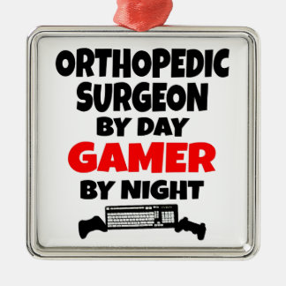 Gamer Orthopedic Surgeon Christmas Ornaments