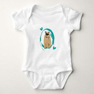 Gamer Pug Baby Bodysuit