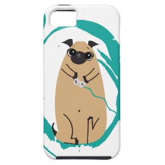 Gamer Pug iPhone 5 Cases