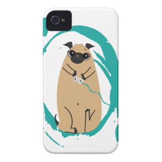 Gamer Pug iPhone 4 Case