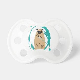 Gamer Pug Pacifier