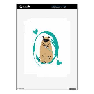 Gamer Pug Skin For The iPad 2