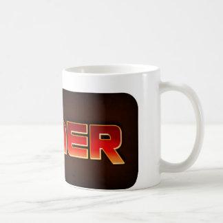 GAMER Retro Style Logo Coffee Mug