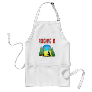 Gamer Roughing It Adult Apron