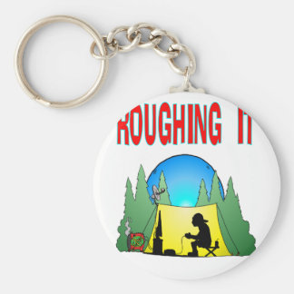 Gamer Roughing It Key Chains