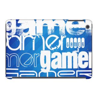 Gamer; Royal Blue Stripes iPad Mini Retina Cases