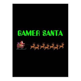 Gamer Santa Postcard