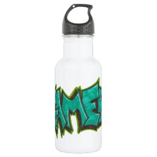 Gamer Stainless Steel Water Bottle