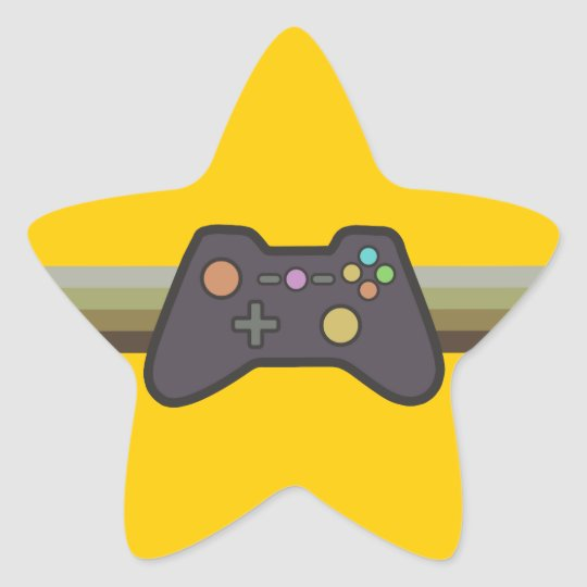 Gamer Star Sticker