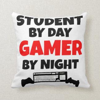 Gamer Student Throw Pillow