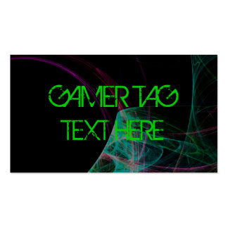 GAMER TAG BUSINESS CARDS