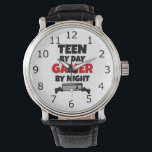 """Gamer Teen Wristwatch<br><div class=""""desc"""">This gaming watch is perfect for any teen who loves video or computer games!</div>"""