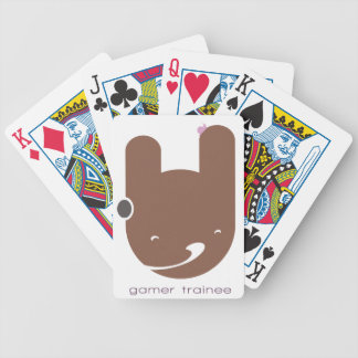 Gamer Trainee Bicycle Playing Cards