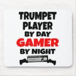 Gamer Trumpet Player Mousepad