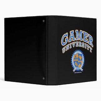Gamer University Binder