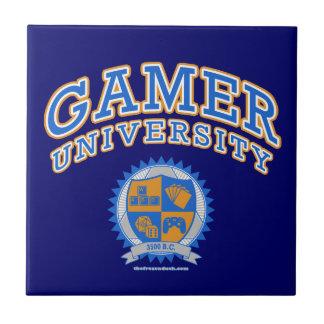 Gamer University Ceramic Tile