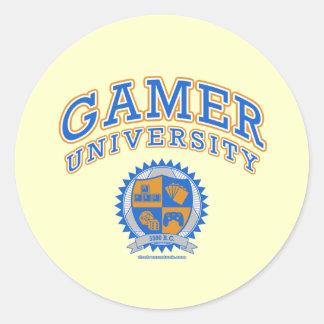 Gamer University Sticker