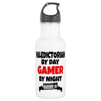 Gamer Valedictorian Water Bottle