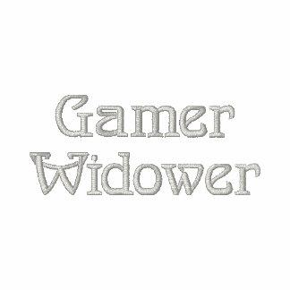 Gamer Widower Embroidered Polo Shirt