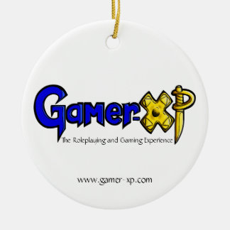 Gamer-XP Ceramic Ornament