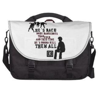 Gamer - Zombie killer Commuter Bags
