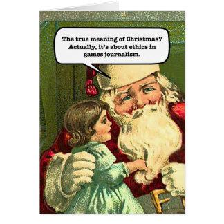 GamerGate Christmas Card