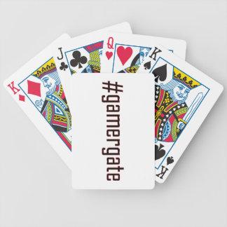 GamerGate Hashtag Baraja Cartas De Poker