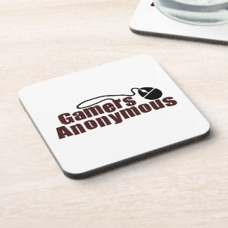 Gamers Anonymous Drink Coaster