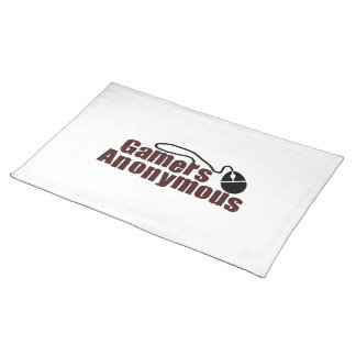 Gamers Anonymous Placemat