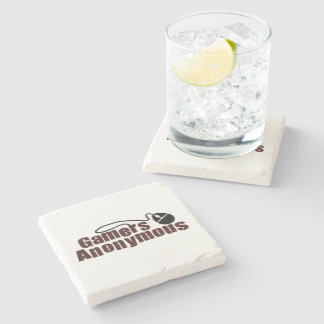 Gamers Anonymous Stone Coaster