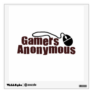 Gamers Anonymous Wall Decal
