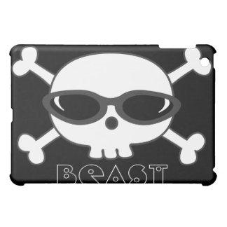 Gamers Beast Skull With Shades iPad Mini Covers