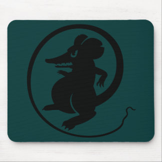 Gamers Black & Forest Aggression Mouse Mousepad