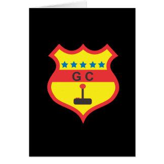 gamers club.ai greeting card