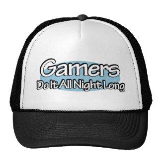 Gamers Do It All Night Long Trucker Hat