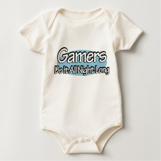 Gamers Do It All Night Long Bodysuits