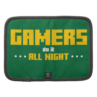 Gamers Do It All Night Folio Planners