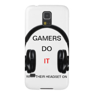 Gamers Do It.. With Their Headset On! Galaxy S5 Case