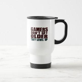 Gamers Don't Get Older... Travel Mug