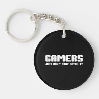 Gamers Acrylic Keychain
