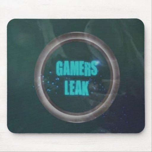 Gamers-Leak-logo Mouse Mat