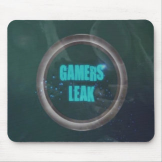 Gamers-Leak-logo Mouse Pad