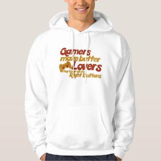 Gamers make better lovers hoodie