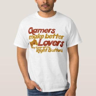 Gamers make better lovers shirt