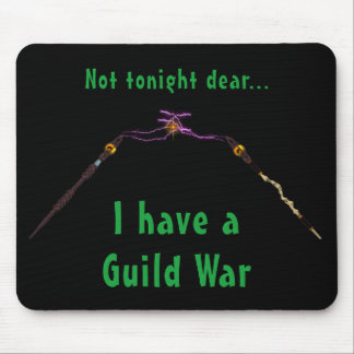 Gamers MMORPG War Humorous Mousepad